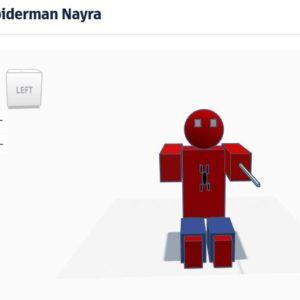 Spiderman Nayra