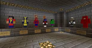 mod superheroes minecraft